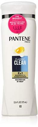 Pantene Sh 2n1 Classic Cl Size 12.6z 2 In 1 Classic Clean 12.6oz