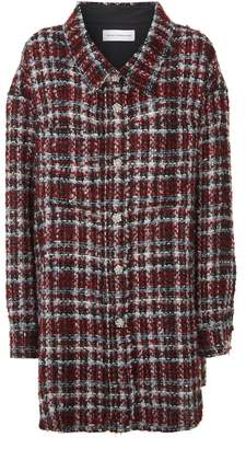Faith Connexion Oversized Tweed Shirt