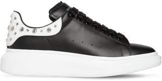 Alexander McQueen 45mm Leather Platform Sneakers