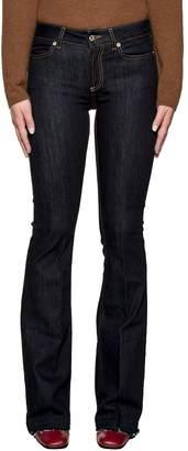 Dondup Dark Blue Neon Denim Jeans