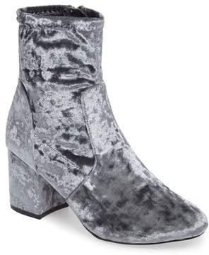 Very Volatile Eclipse Velvet Sock Bootie