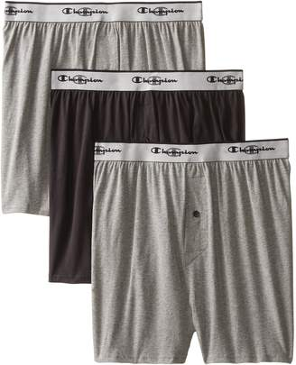 Champion Men's 3Pk Knit Boxers