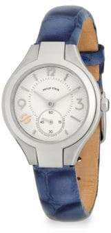 Philip Stein Teslar Mini Classic Leather Strap Watch