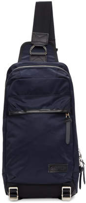 Master-piece Co Navy Lightning One-Shoulder Backpack