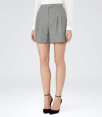 Reiss Maxine Short Patterned Tailored Shorts