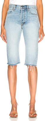Helmut Lang Cut Off Knee Length Short