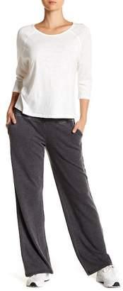 Nanette Lepore High Waist Wide Leg Sweatpants