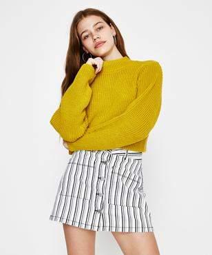 Don't Ask Amanda Mellow Sweater Honey