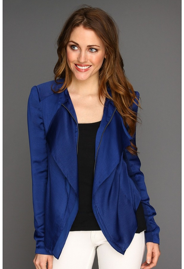 BCBGMAXAZRIA Flora Jacket (Blue Depths) - Apparel