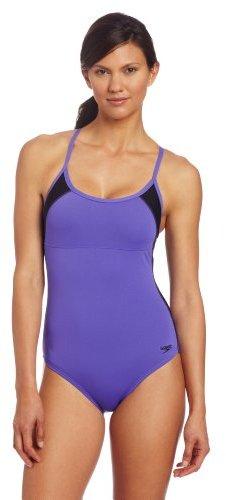 Speedo Women's Mesh Sport Back Endurance Lite Swimsuit
