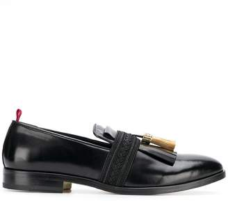 Lords And Fools fringe embellished loafers