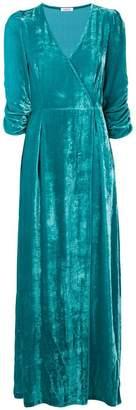 P.A.R.O.S.H. plunge wrap dress