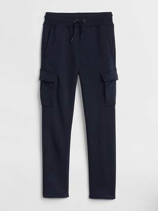 Gap Pull-On Cargo Pants in Fleece