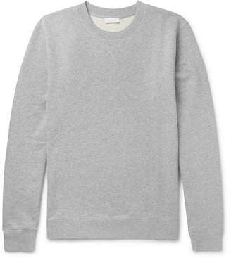 Sunspel Brushed Loopback Cotton-Jersey Sweatshirt - Gray