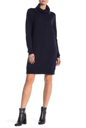 Joe Fresh Wool Cowl Neck Sweater Dress
