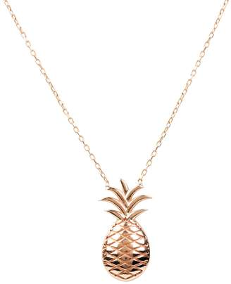 Rosegold Latelita - Pineapple Fruit Necklace