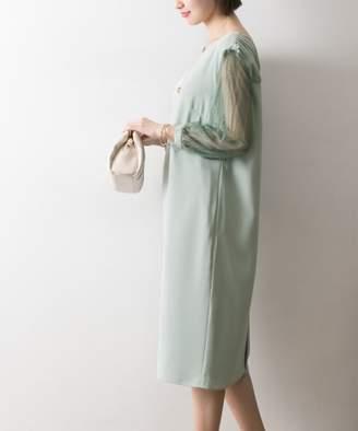Couture MAISON 袖レースドレス
