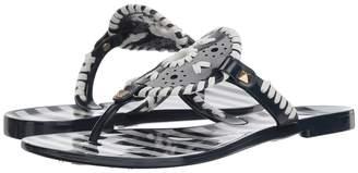Jack Rogers Striped Georgica Jelly Women's Sandals