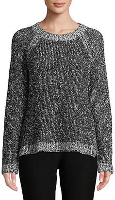 Eileen Fisher Round Neck Boxy-Fit Sweater