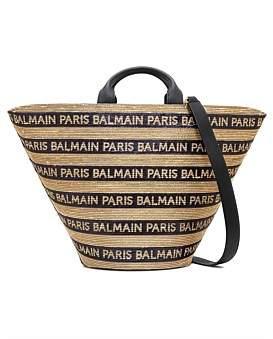 Balmain Linen Shopper