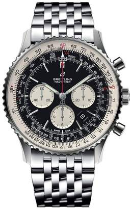 Breitling Stainless Steel Navitimer 01 Chronograph Watch 46mm