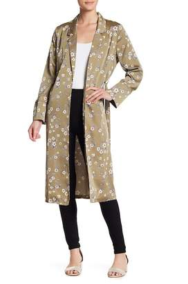 Sugar Lips Sugarlips Take Me Higher Floral Duster Coat