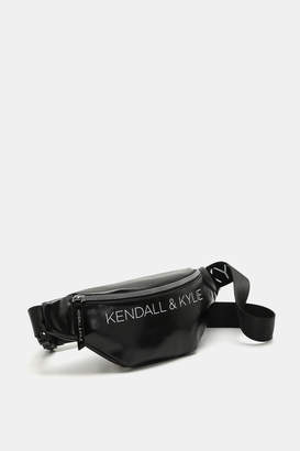 KENDALL + KYLIE Kendall & Kylie Metallic Faux Leather Fanny Pack