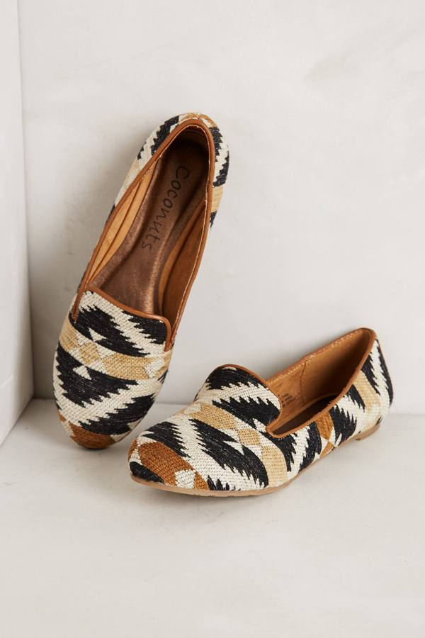 Anthropologie Southwester Loafers