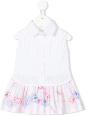 Lapin House ruffled shirt dress