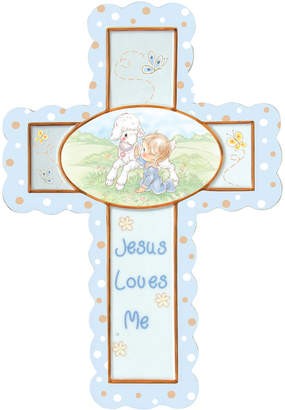 Precious Moments Jesus Loves Me Cross With Stand, Boy