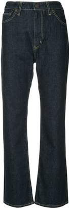 Hysteric Glamour cropped flared jeans