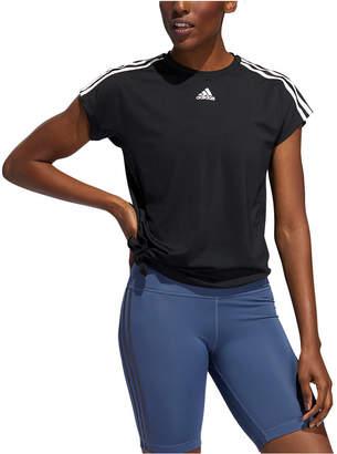adidas ClimaLite Side-Tie Training T-Shirt