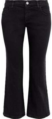 RED Valentino Mid-Rise Kick-Flare Jeans