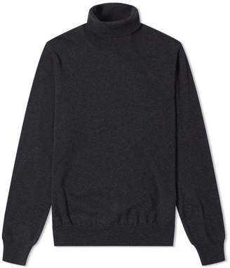 Maison Margiela 14 Classic Elbow Patch Roll Neck Knit