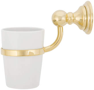 Decor Walther - CLWMG Classic Wall-Mounted Tumbler - Gold/Porcelain White