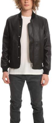 Officine Generale Efy Leather Jacket