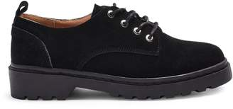 Topshop Furnace Lace-Up Leather Oxfords