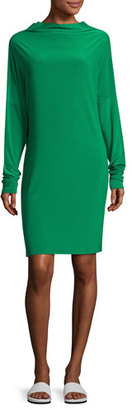 Norma Kamali All-in-One Jersey Dress, Green $150 thestylecure.com