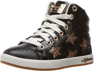 Skechers Girl's SHOUTOUTS - STARRY SHINE Sneakers, Black/Gold