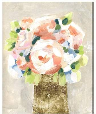 Wayfair 'Coral Peonies' Painting Print on Canvas