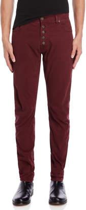 Imperial Star Burgundy Ergo Slim Fit Jeans