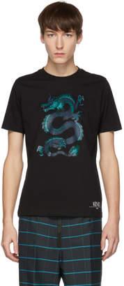 Kenzo Black Limited Edition Holiday Dragon T-Shirt