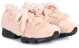 Ganni X Shrimps Fergus Seashell sneakers