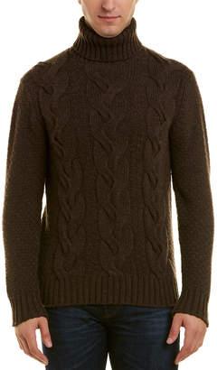 Turnbull & Asser Cashmere Turtleneck Sweater
