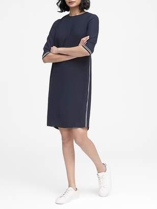 Banana Republic Side-Stripe Mini Dress