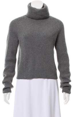 Chanel Cashmere Turtleneck Sweater Grey Cashmere Turtleneck Sweater