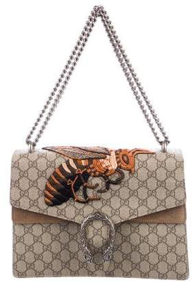 Gucci GG Supreme Medium Dionysus Bee Bag