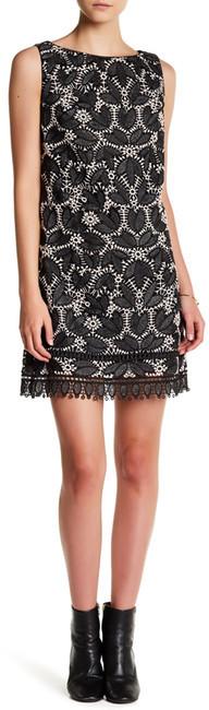 Anna SuiAnna Sui Falling Leaf Lace Sleeveless Dress