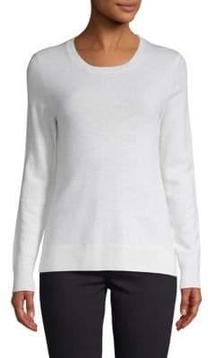 Saks Fifth Avenue Rib-Knit Cashmere Sweater