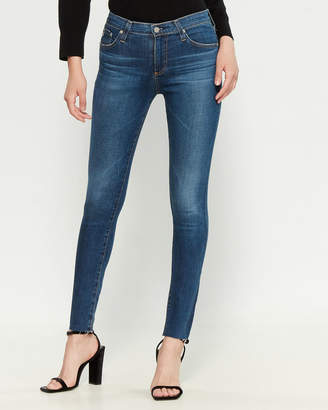 AG Adriano Goldschmied 7 Years Chasm Farrah High-Rise Skinny Jeans